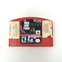 NBA Jam 2000 Nintendo 64 N64 Basketball Authentic Video Game Tested