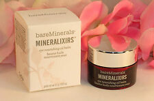 New Bare Minerals Mineralixirs Eye Nourishing Oil Balm .29 oz 8.5 g Moisturizer