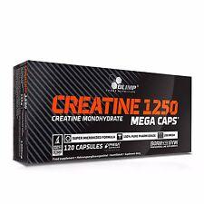 OLIMP CREATINE MEGA CAPS 1250 mg Creatin Kreatin Monohydrat 120 kap.EXTRA
