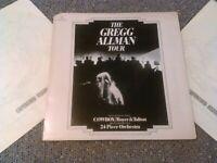 THE GREGG ALLMAN TOUR + COWBOY 2X LP + INNERS EX!!! ORIGINAL U.S CAPRICORN