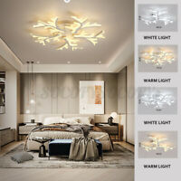 Modern Chandeliers Ceiling Light Fixture Pendant LED Dimmable Remote Control