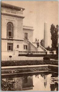 "Washington DC Postcard ""View from AZTEC GARDEN of Pan-American Union"" c1940s"