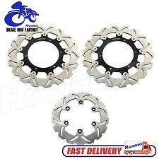 Front Rear Brake Disc Rotors for Yamaha FZ1 FZS 1000 FAZER 01 02 03 04 05 06