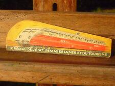 1950 RARE MARQUE PAGES SNCF TRAIN CHEMIN DE FER LOCOMOTIVE RAIL GARE
