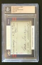 2012 GENE SARAZEN  AUTOGRAPH WORLD GOLF HALL OF FAME SPORTS ICONS 8 OF 15