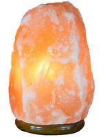 7-11 Lbs Salt Lamp with Dimmer Cord Natural Himalayan Rock Ionic Air Purifier