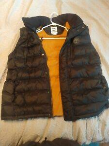 Timberland Thermore men's black full zip vest