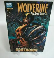 Wolverine The Best There Is Contagion Marvel Hard Cover Brand New Sealed  HC
