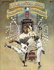 1984 Baseball All-Star Program