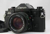【NEAR MINT】 Canon A-1 SLR Film Camera w/ New FD 50mm F/1.4 Lens from Japan A636