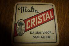 yp, IE CUBA HATUEY OLD used beer coaster nr591 CRISTAL