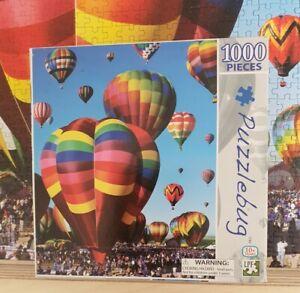Puzzlebug Albuquerque Balloon Fiesta Jigsaw 1000pce 58 x 46cm Complete c2013 MIB