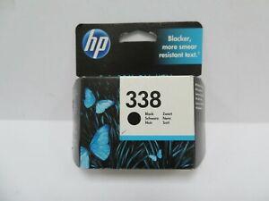 HP 338 Black Inkjet Cartridge BBE 6.21