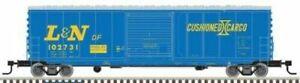 Atlas # 20004751 ACF Precision-Design Smooth-Side 50' Boxcar L&N # 102734 HO MIB