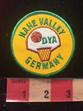 DYE NAHA VALLEY GERMANY Basketball Patch 82P6
