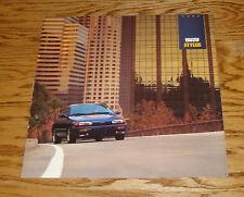 Original 1992 Isuzu Stylus Deluxe Sales Brochure 92