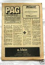 Pub Publicité Journal Petites Annonces Générales PAG Hebdo Nancy 1977 n°414