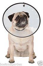 New Large Dog Cat Funnel Collar,Clear Plastic Elizabethan, Total Pet Health