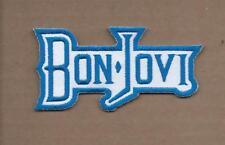 NEW 1 7/8 X 3 3/4 INCH BON -JOVI IRON ON PATCH FREE SHIPPING
