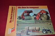 Hesston 5400 5800 Round Baler Dealer's Brochure RB-2-1075 LCOH
