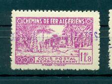TRENI - TRAINS ALGERIA 1945 Pacchi Postali Railways Post Colis Postaux 11.8 F