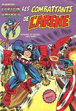 Artima / Arédit  Captain America    N° 18  série 1