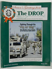 """""""GREEN BERET"""" THE DROP MAGAZINE, WINTER 2008 ISSUE, SPECIAL FORCES ASSOCIATION"""