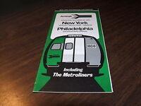 OCTOBER 1973 AMTRAK FORM 2 NYP-NWK-TRE-PHL SERVICE PUBLIC TIMETABLE