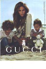 PUBLICITE ADVERTISING 2010   GUCCI  haute couture Jenifer LOPEZ à la mer