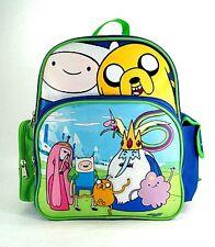 "Cartoon Network ADVENTURE TIME TODDLER 12"" BACKPACK Jake Finn School Travel Bag"
