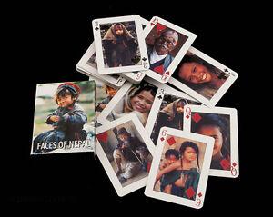 Jeu de 54 Cartes Visages du Nepal et DE Himalaya Peterandclo 6801
