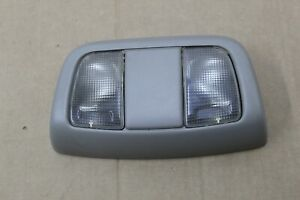 2002-2004 Nissan Xterra Frontier OVERHEAD MAP DOME INTERIOR LIGHT GREY OEM