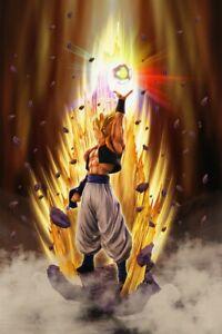 -=] BANDAI - Dragonball Z Supersaiyan Gogeta Resurrection Figuarts Zero [=-