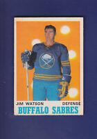 Jim Watson 1970-71 O-PEE-CHEE Hockey #144 (EX+) Buffalo Sabres