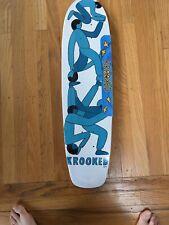 Krooked Skateboards Geoff Mcfetridge Guest Artist brand new rare art