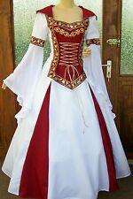 Mittelalter Hochzeit Kleid Lorena*Gothic*Gewand*nach Maß*deutsche Gr.34-64