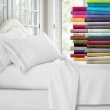 Egyptian Comfort 1800 Conde 4 piezas Juego de sábanas para cama con bolsillos profundos sábanas de cama