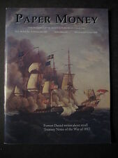 PAPER MONEY  Journal Society of Paper Money Collectors Sept/Oct 2008 magazine