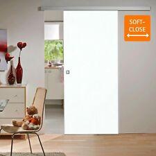 Schiebetür Zimmertür Holzschiebetür Holz Tür weiß 880x2035 Beschlag SoftClose