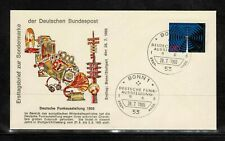 Germany 1965 Radio Exhibition In Stuttgart  FDC - Mint 1