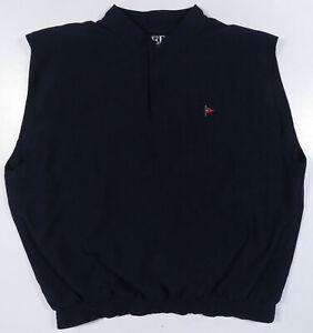 NWOT Zero Restriction ZR Gore Tex Waterproof Golf Outerwear Snap Vest Jacket XL