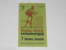 Wachau-Kamptal 7, Landkarte, Freytag & Berndt Touristenkarten, ca. 1950