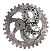 24CM Vintage Chic Gear Wheel Antique Art Wall Hanging Home Decor Accessories