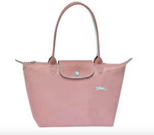 Authentic Longchamp Le Pliage Tote Bag Small Antique Pink