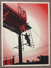 Obey Bayshore Billboard print by Shepard Fairey signed and numbered
