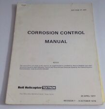 BELL HELICOPTER TEXTRON CORROSION CONTROL MANUAL 1978