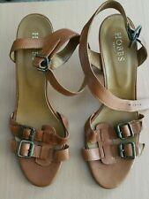 Hobbs block heel sandals size 40.5