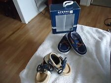 SPERRY AND CARTER'S BABY SHOES'' REDUCED FOR QUICK SALE''