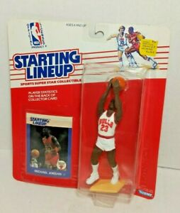 NEW Vintage 1988 Starting Lineup Michael Jordan Chicago Bulls Kenner 88470