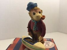 Penny Whistle Lane Sam Monkey With Sail Boat From Enesco (1)